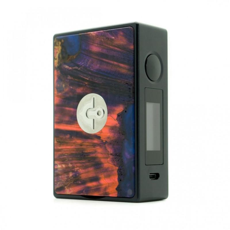 asMODus x Ultroner EOS 180W Box Mod rot blau