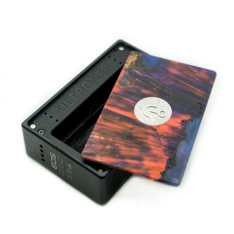 asMODus x Ultroner EOS 180W Box Mod akkudeckel
