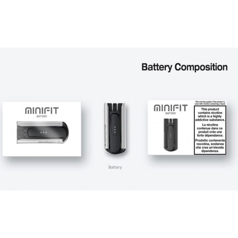 Justfog Minifit Battery Spezifikationen