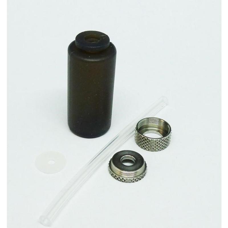 Mod Maker Dinky Silicone Squonker Bottle Kit (Dark/Light) black parts