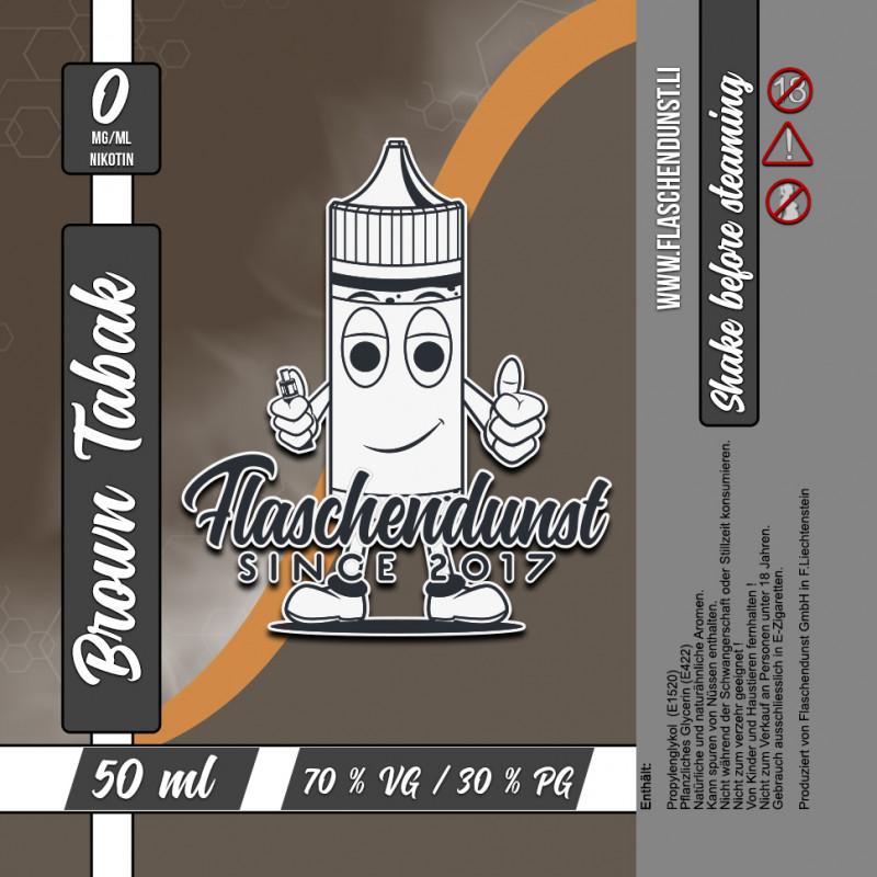 Flaschendunst Brown Tabak Logo