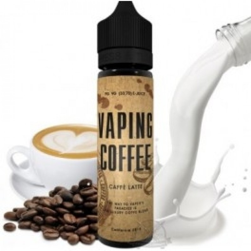 Vaping Coffee Cappuccino mit bild