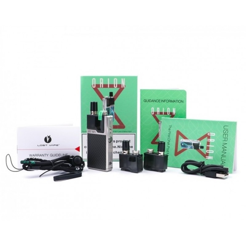 Lost Vape Orion DNA Go Kit Lieferumfang
