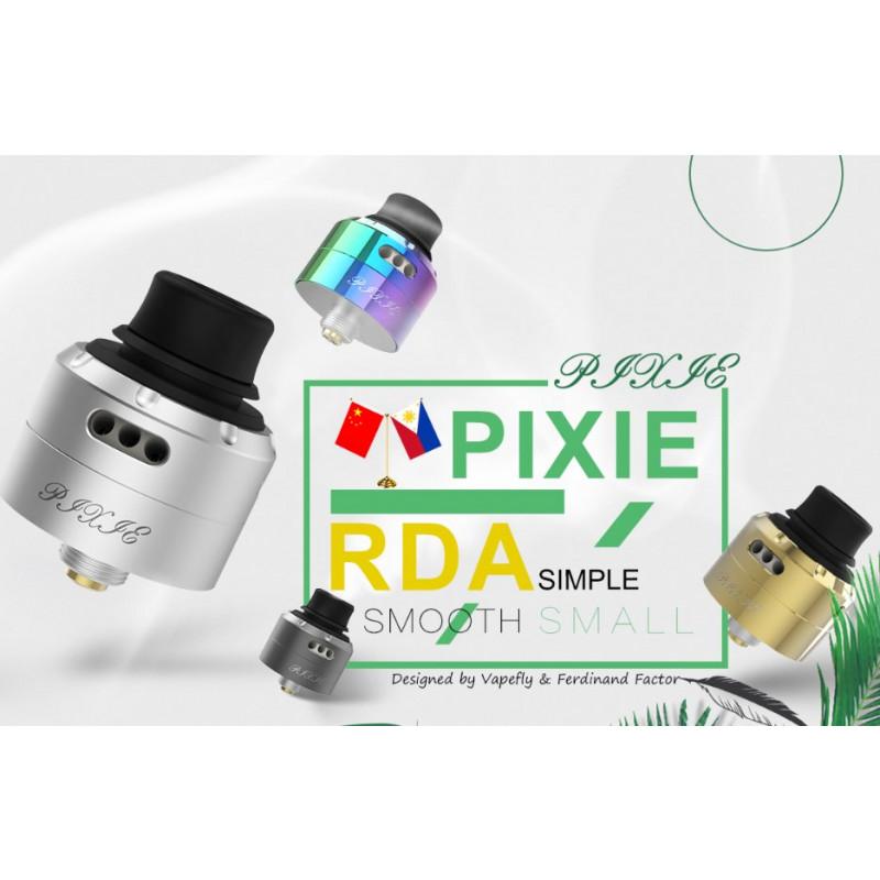 Vapefly Pixie RDA Ansicht Farben