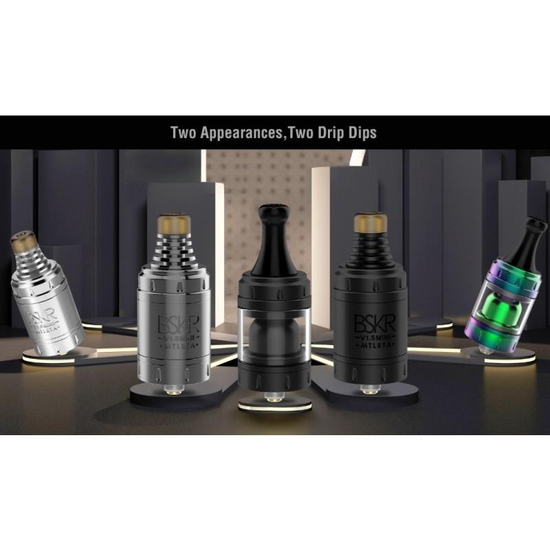 Vandy Vape Berserker V1.5 Mini MTL RTA verscjhiedene Drip Tips