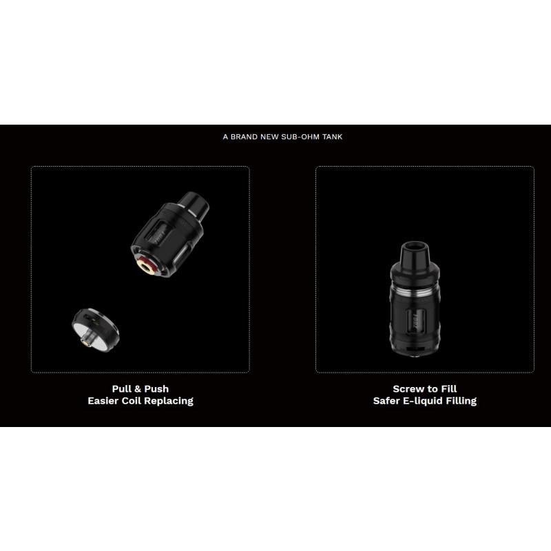 Vaporesso Forz TX80 Kit Coil einsetzen und befüllen