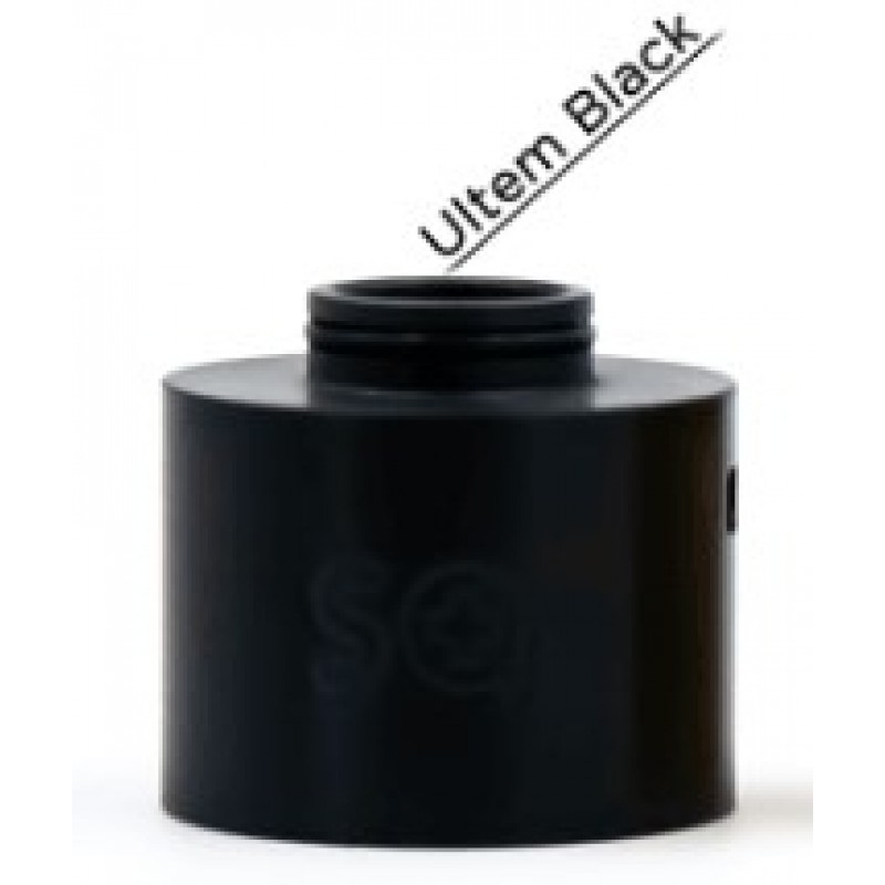 Stattqualm Squape S[even] RDA Cap Black Ultem