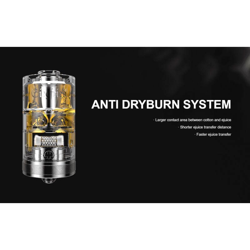 Vapefly Siegfried RTA Anti-Dry Burn erklärt