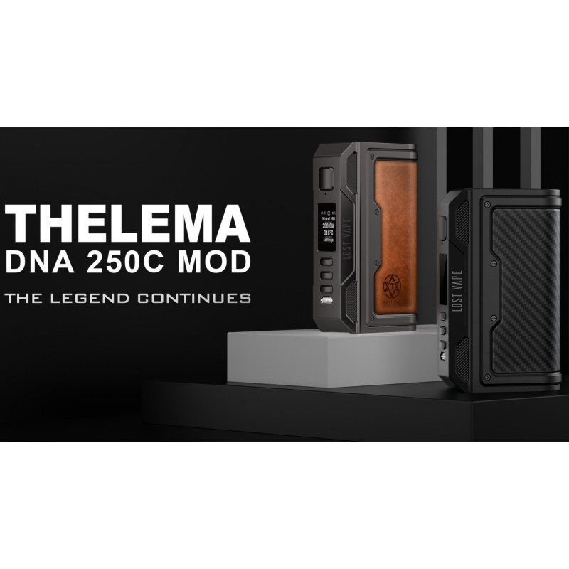 Lost Vape Thelema DNA250C Mod Intro