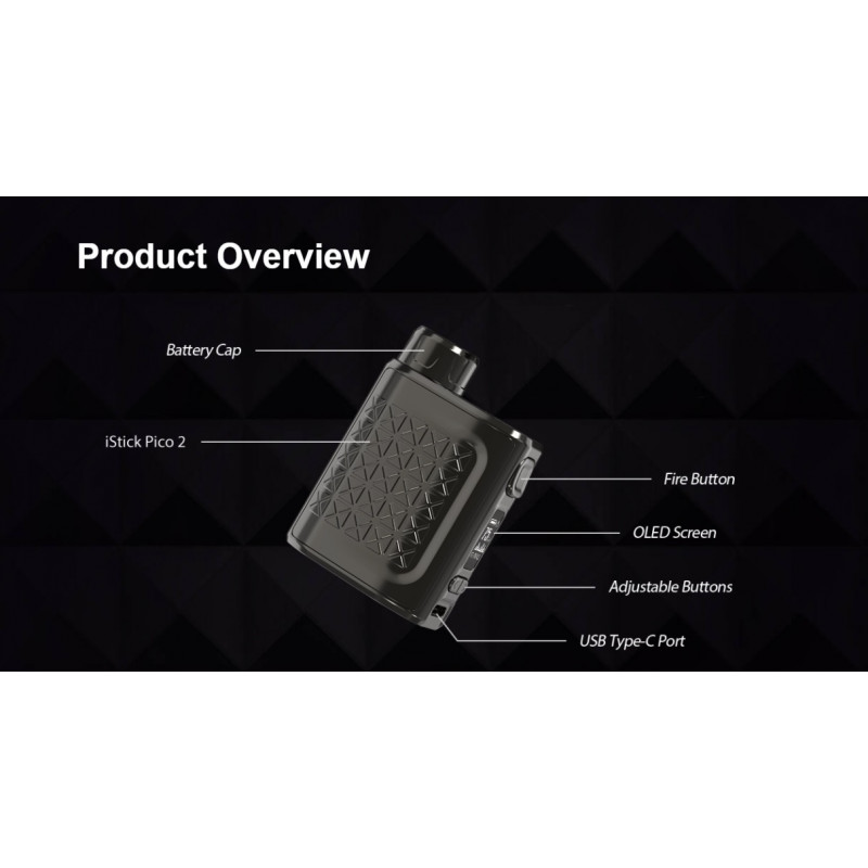 Eleaf iStick Pico 2 75W Mod Produktübersicht