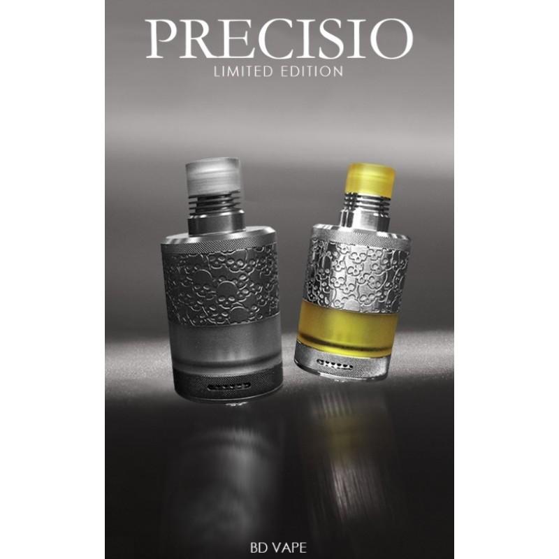 BD Vape Precisio MTL RTA Dark und Silver Night Limited Edition