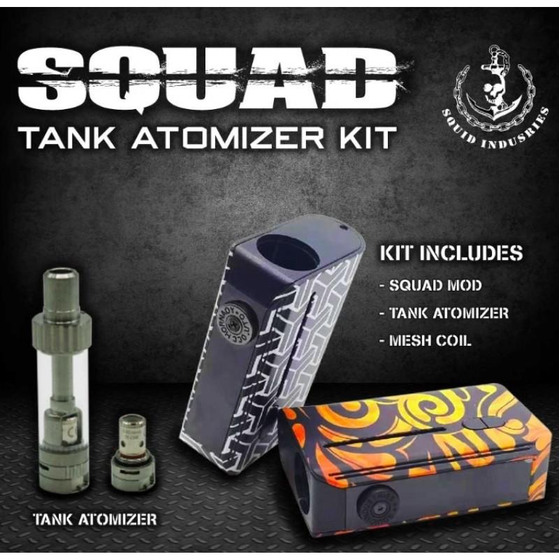 Squid Industries Squad Tank Atomizer Kit Einleitung