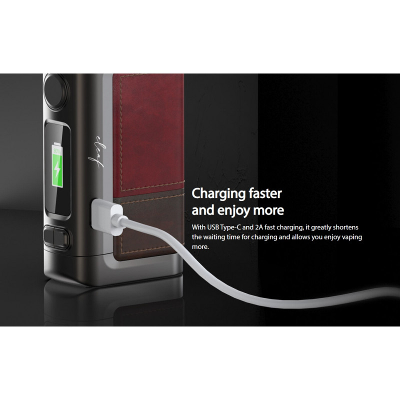 Eleaf iStick Power 2C 160W Mod USB Type-C Anschluss