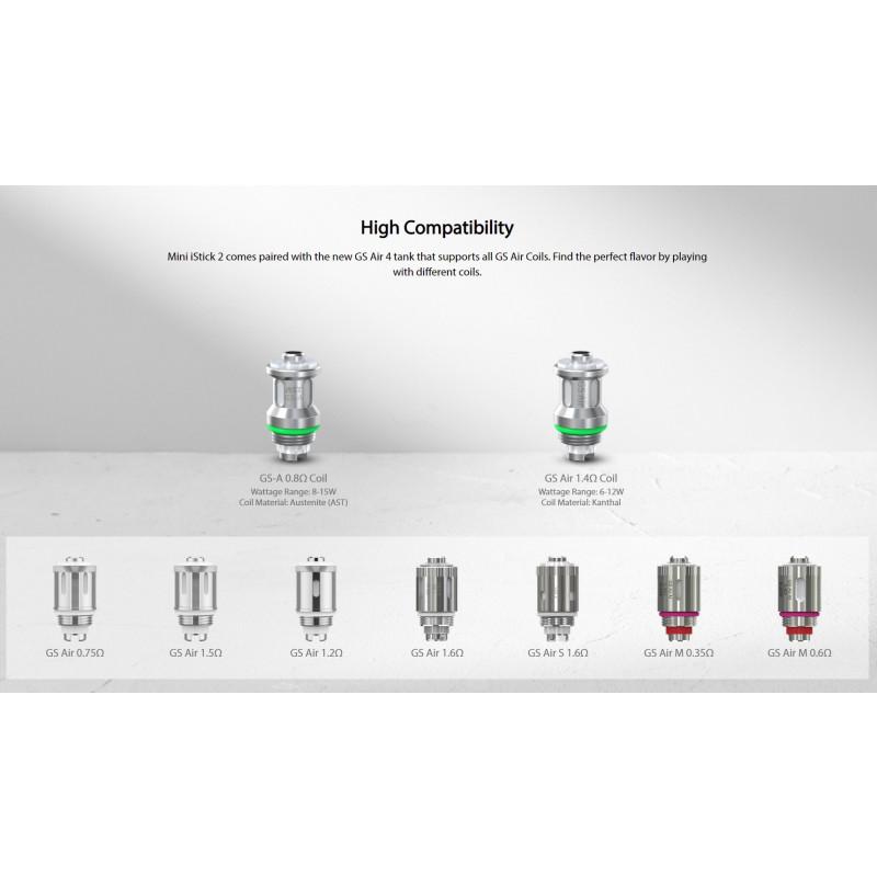 Eleaf Mini iStick 2 Kit GS Air Coils