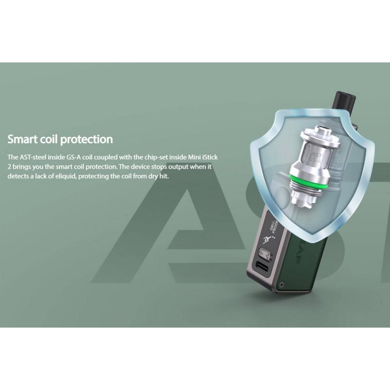 Eleaf Mini iStick 2 Kit Smart Coil Protection