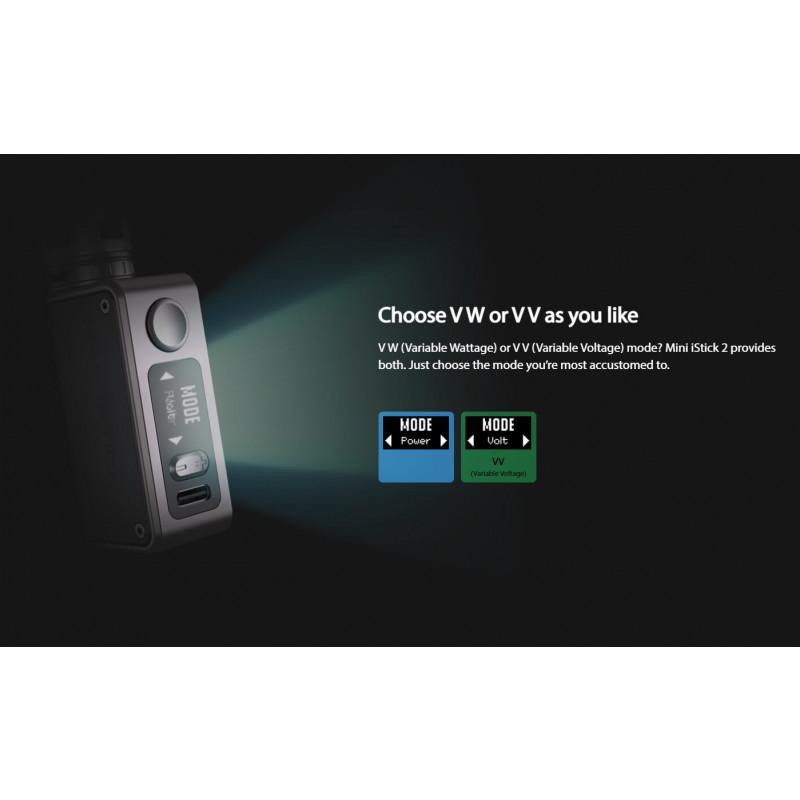 Eleaf Mini iStick 2 Kit Betriebsmodi