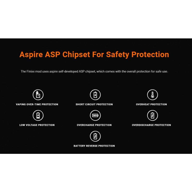 Aspire Finixx Mod Schutzfunktionen Chip