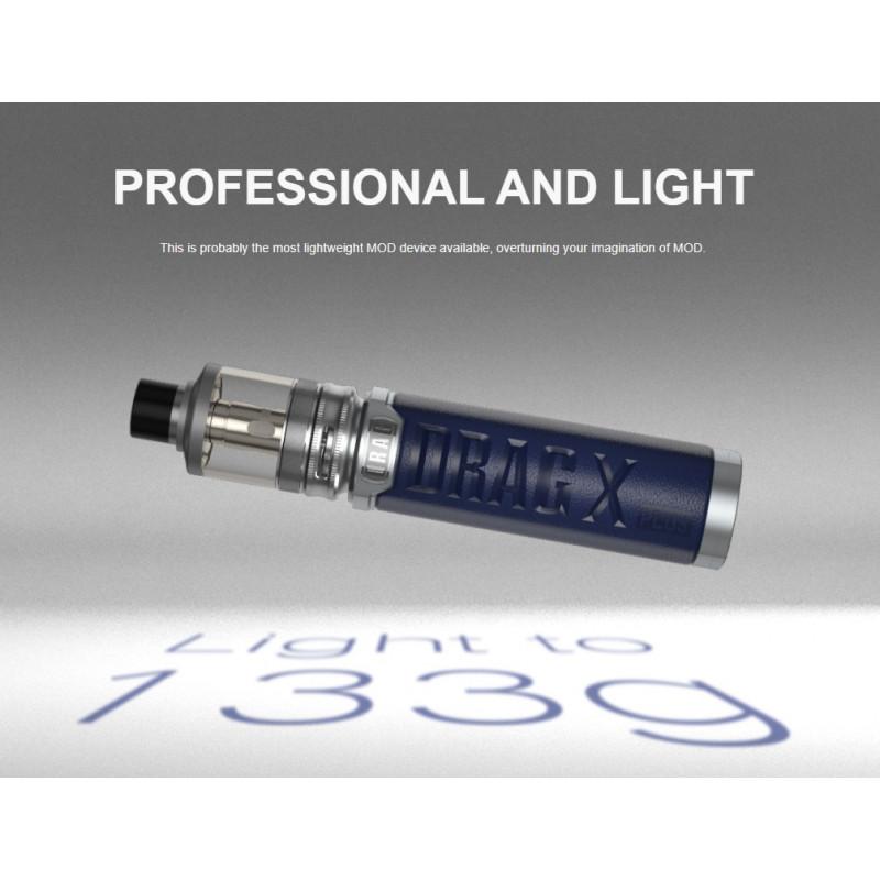 Voopoo Drag X Plus Professional Edition Kit leichte Bauweise