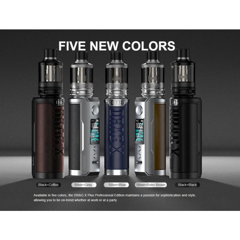 Voopoo Drag X Plus Professional Edition Kit neue Farben