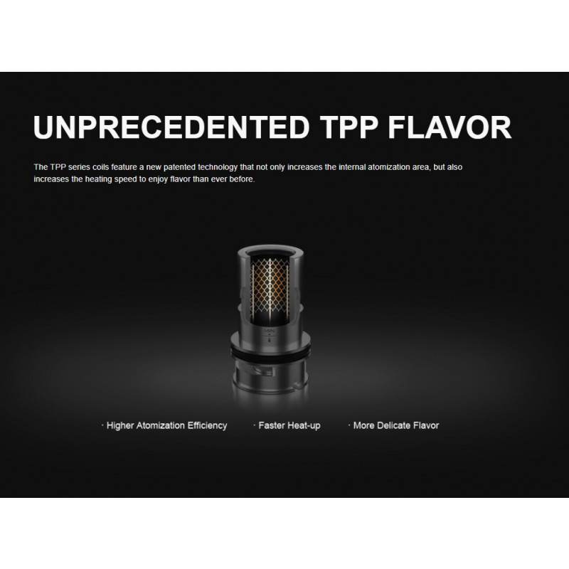 Voopoo Drag X Plus Professional Edition Kit Erklärung TPP Coils