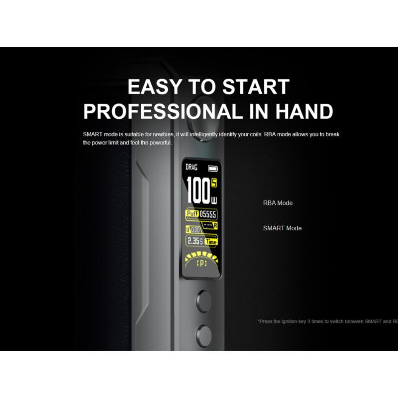 Voopoo Drag X Plus Professional Edition Kit Betriebsmodi
