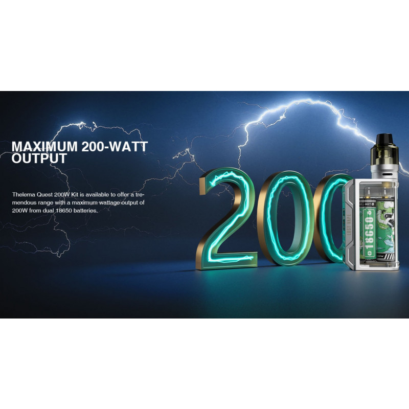 Lost Vape Thelema Quest 200W maximale Leistung