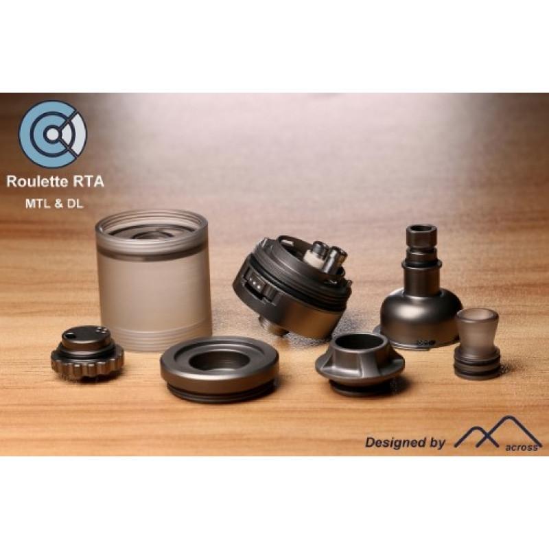 Across Vape Roulette RTA Einzelteile