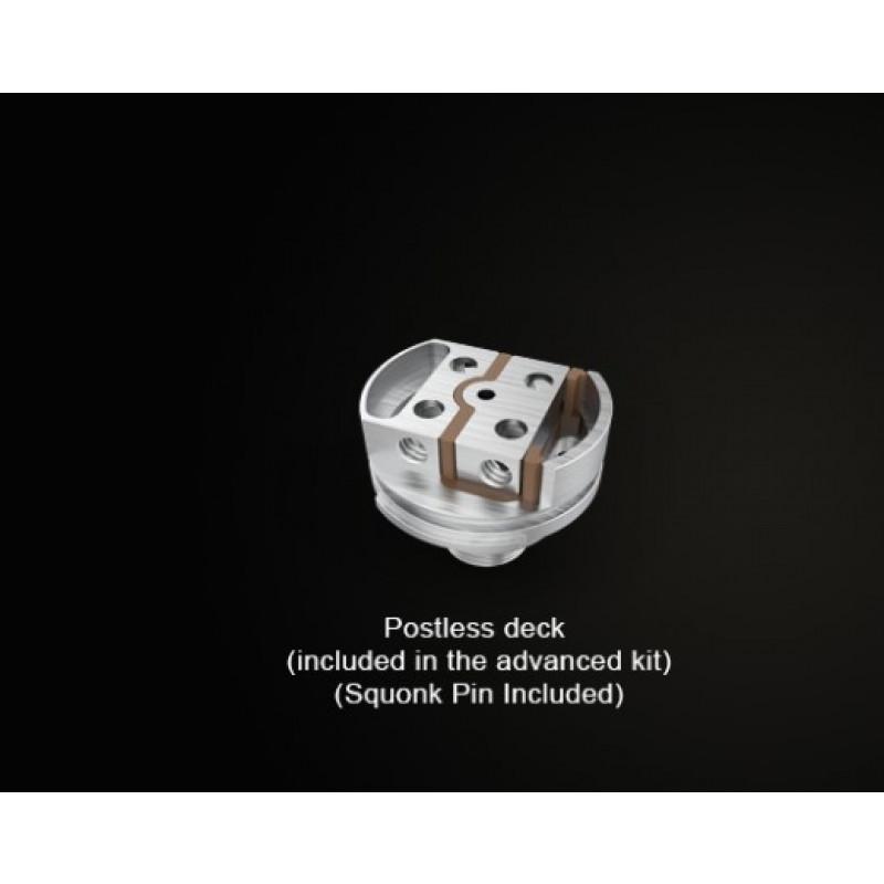 Steam Crave Aromamizer V3 RDTA Advanced Kit Ansicht postless Deck