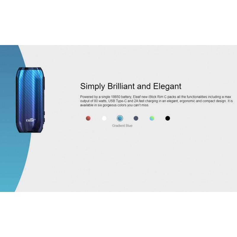 Eleaf iStick Rim C Mod verschiedene Farben