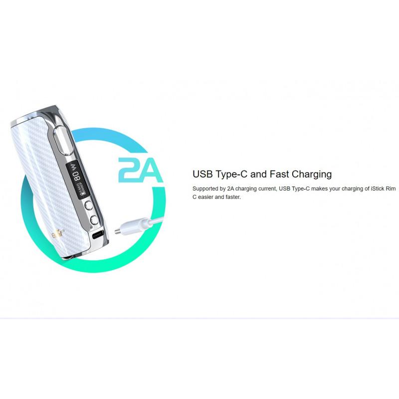 Eleaf iStick Rim C Mod Anschluss USB-C