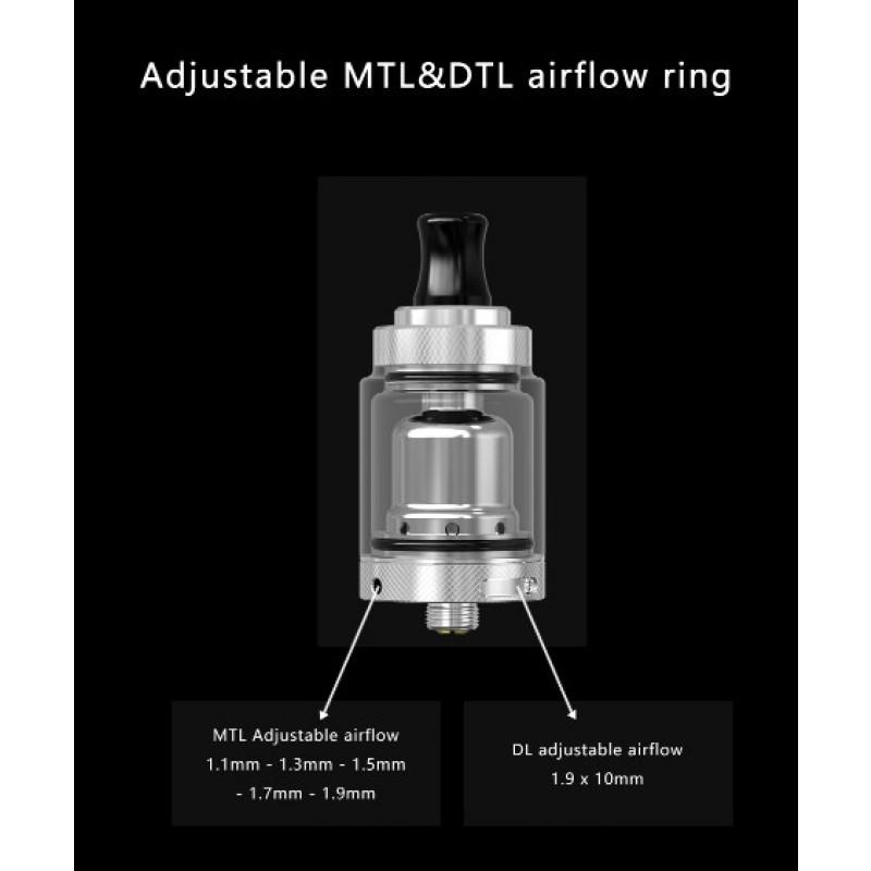 Mechlyfe XRP RTA Advanced Kit Airflow Einstellungen