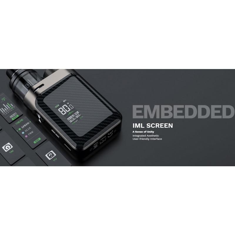 Vaporesso Swag PX80 Kit Ansicht Display
