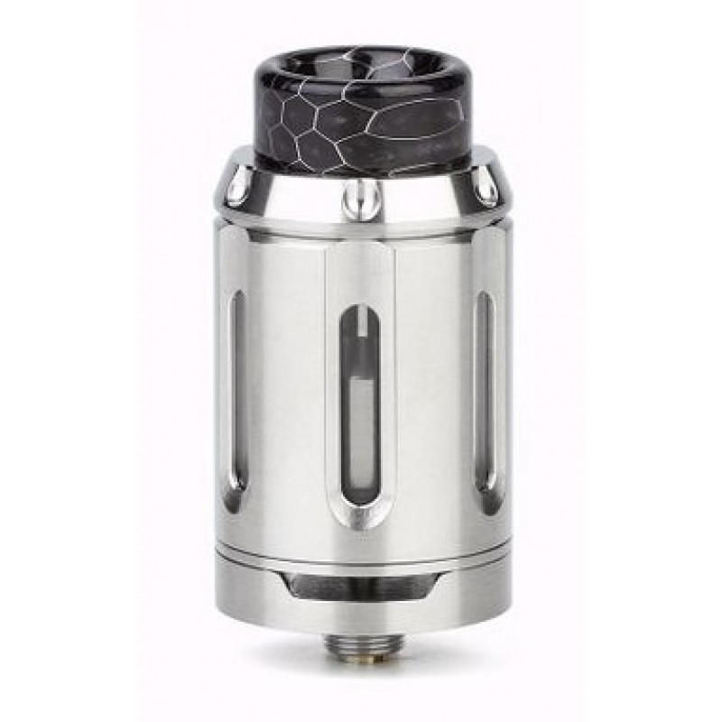Squid Industries Peacemaker RTA 25mm Single Coil Ansicht Tank SS