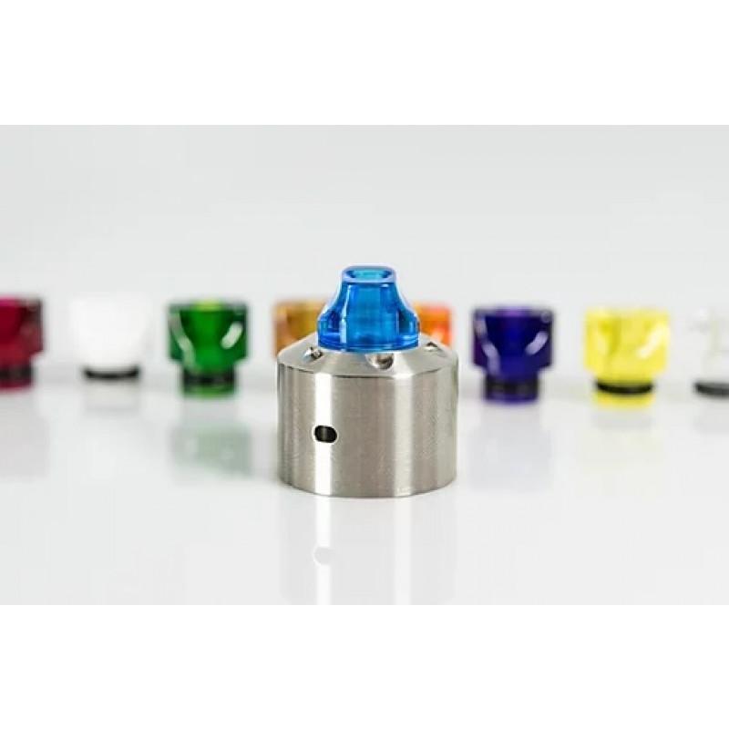 Koncio Mods Drip Tip V3 Whistle Ansicht auf RDA