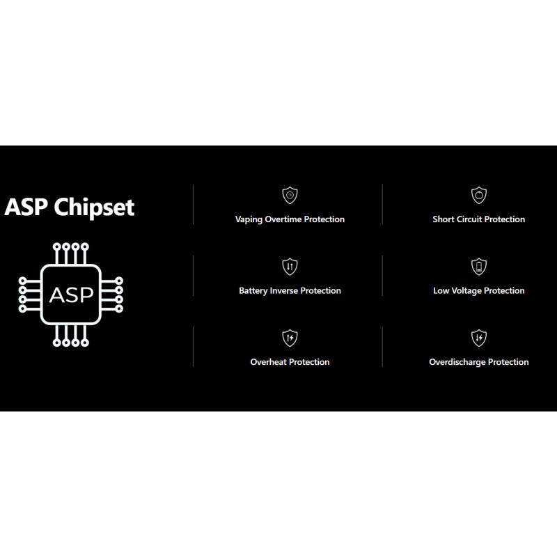 Aspire Mixx Mod Spezifikationen ASP Chip