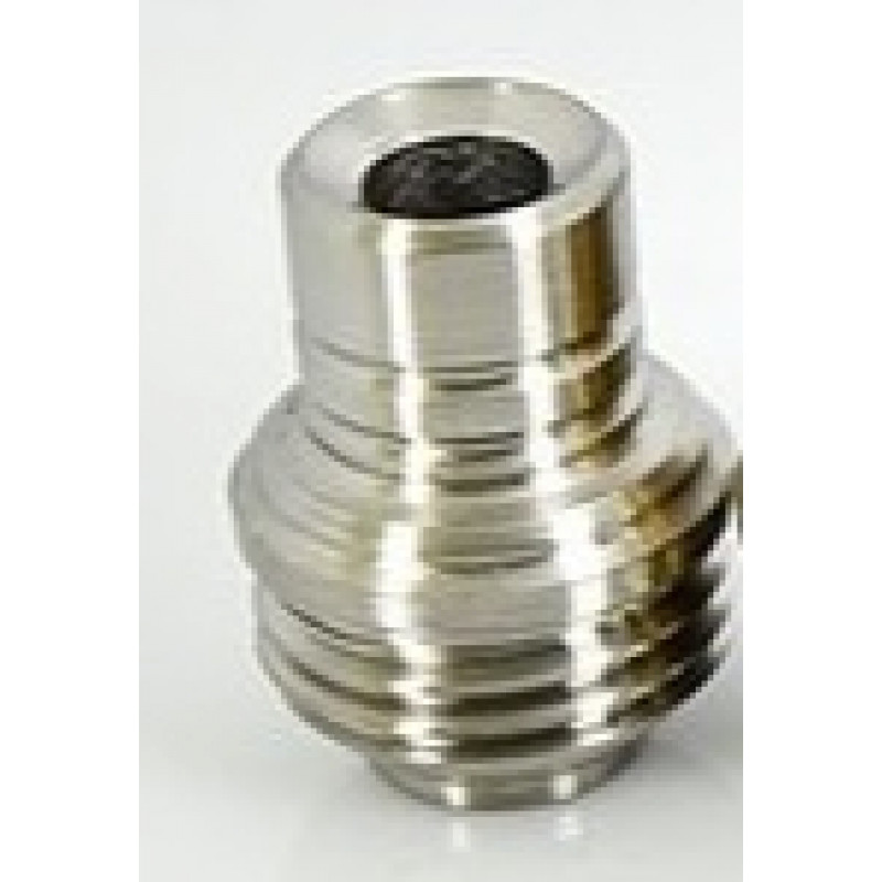 Koncio Mods Billet Box Titanium Drip Tip V2 Ansicht Silber
