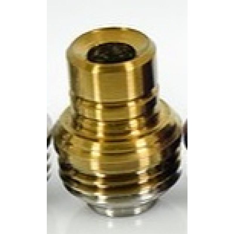 Koncio Mods Billet Box Titanium Drip Tip V2 Ansicht Gold