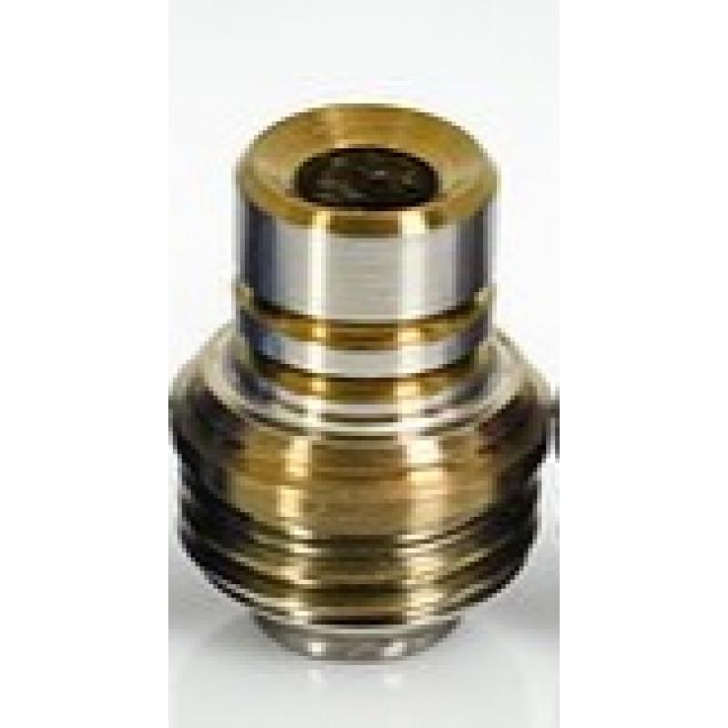 Koncio Mods Billet Box Titanium Drip Tip V2 Ansicht Gold-Silber