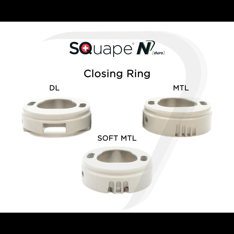 Stattqualm Squape N Closing Ring Versionen