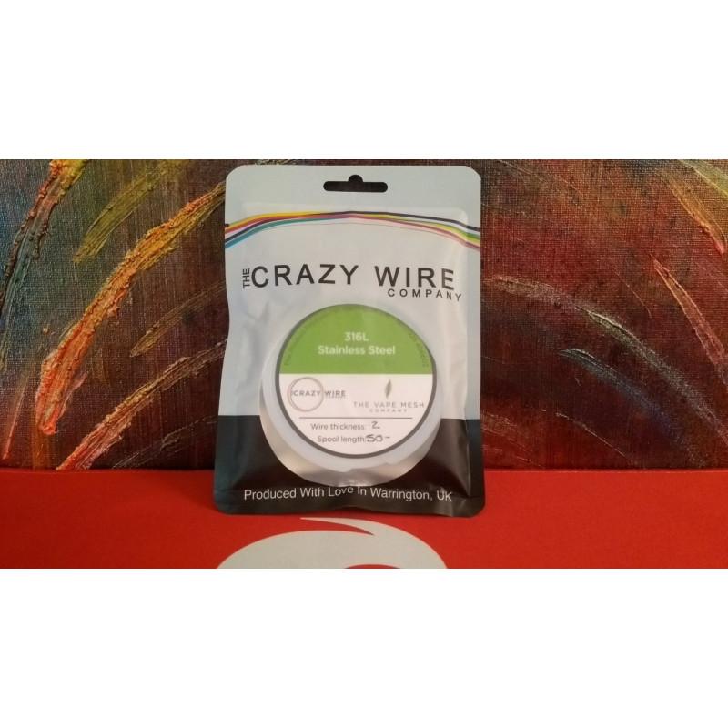 Crazy Wire Company SS316L 0.20mm 50m