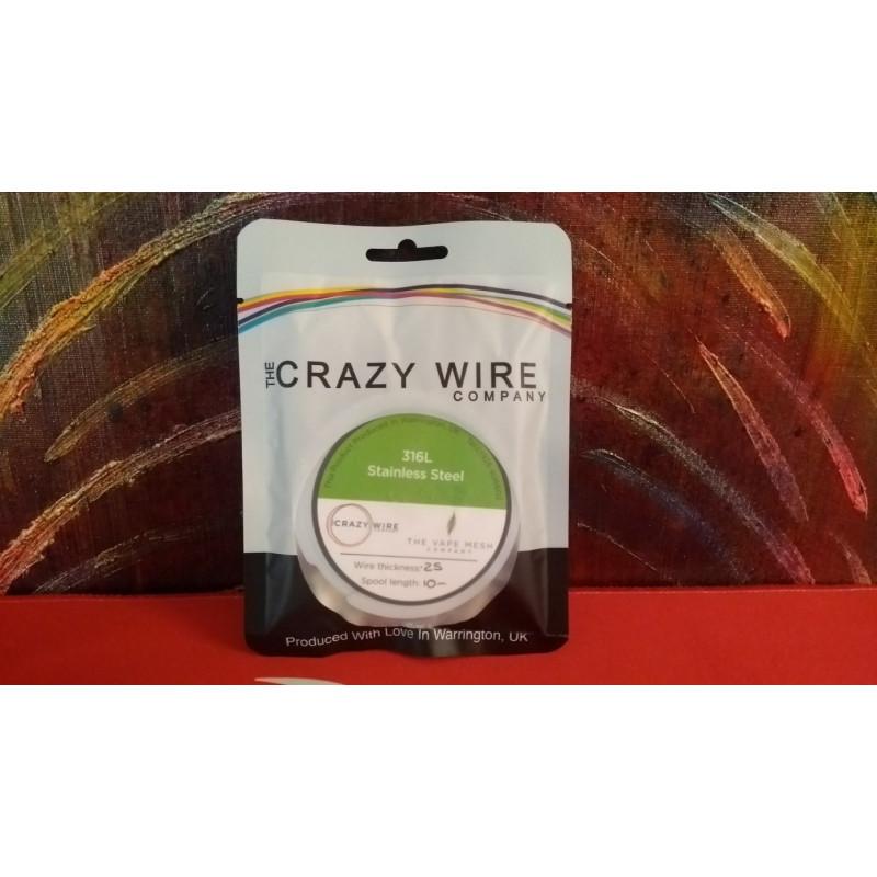 Crazy Wire Company SS316L 0.25mm 10m