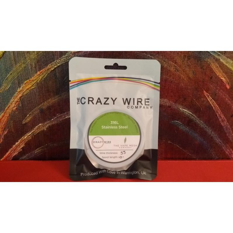 Crazy Wire Company SS316L 0.35mm 10m