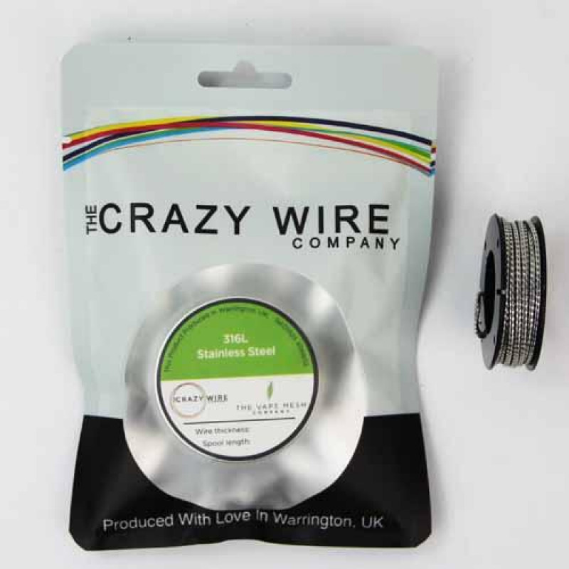 Crazy Wire Juggernaut SS316L