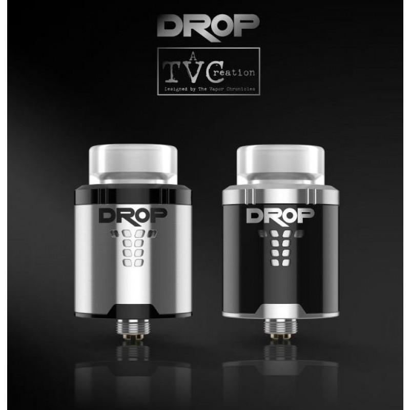 Digiflavor Drop RDA black & stainless steel