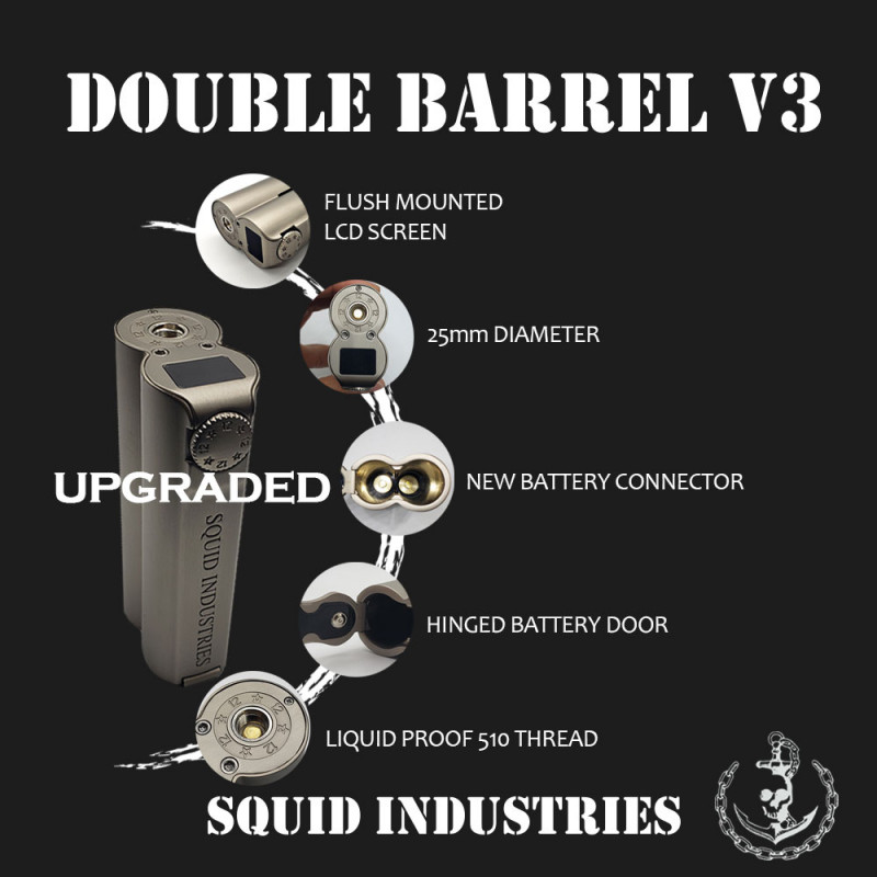 Squid Industries Double Barrel V3 Features