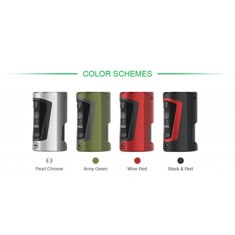 Geekvape GBox Squonker Mod colors