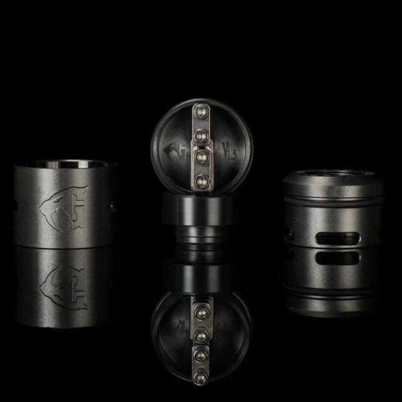 528 Custom Goon V1.5 RDA 22mm/24mm black