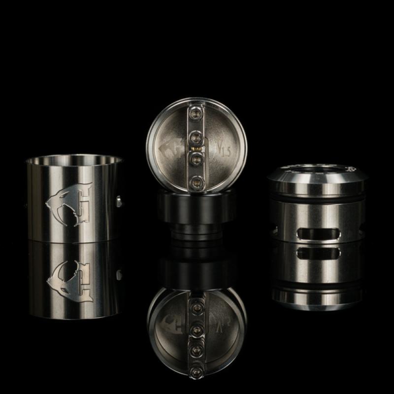 528 Custom Goon V1.5 RDA 22mm/24mm stainless steel