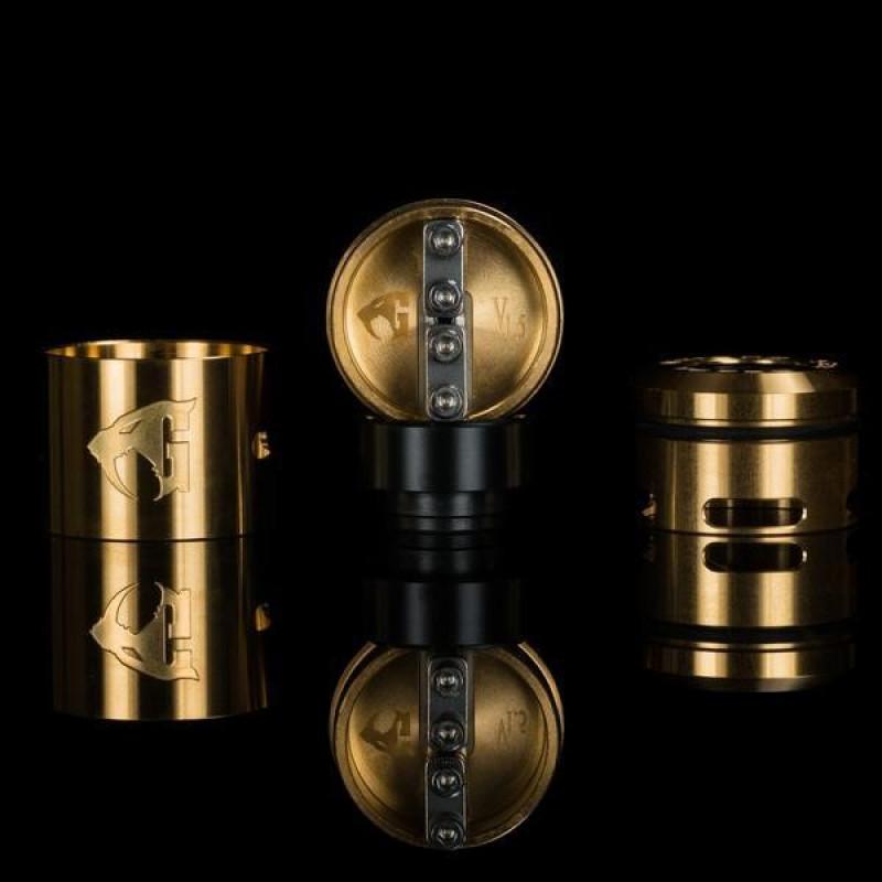 528 Custom Goon V1.5 RDA 22mm/24mm gold