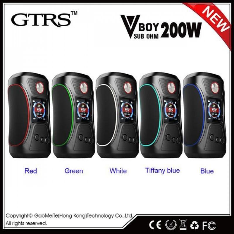 GTRS Tech VBoy 200W YiHi SX500 Mod colors